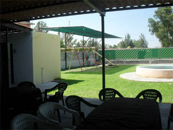 Palapa de fiestas alcatraz aguascalientes salones para for Jardin quinta montebello mexicali