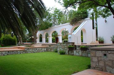 Ex hacienda santa rosa oaxaca for Jardin querubines