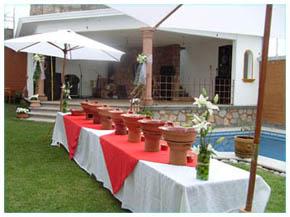 Jardín Terraza Ivanely Cuernavaca Morelos