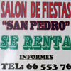Salon San Pedro en Salvatierra