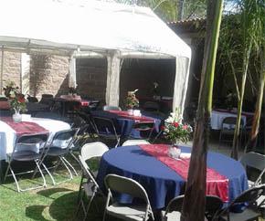 Terraza santa anita morelia salones para eventos for Salon villa jardin morelia