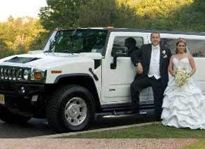 coche boda hummer